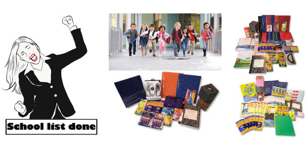www.schoollistdone.com ! Submit Your School Supplies Shopping List, then…… Your items Arrive within A Week ! >> www.schoollistdone.com With the first Back to School shopping season done, Schoollistdone.com has reinvested […]