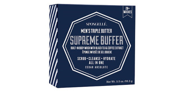 Spongellé Men's Supreme Buffer $18.00 Available Online www.Spongelle.com  FACEBOOK | TWITTER | INSTAGRAM | PINTEREST The Men's Supreme Buffer in Cedar Absolute has a moisture boosting triple butter body wash […]