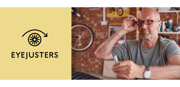 Give Dad the gift of Clear vision. Not blurred. Clear with adjustable focusing for Father's Day! www.eyejusters.com FACEBOOK | TWITTER| INSTAGRAM  British invented and manufactured adjustable reading glasses – […]