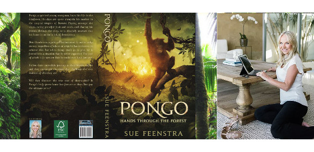 """Pongo – Hands Through The Forest is the perfect gift for both Mothers and their children! Gold Coast author """"saved"""" by orangutans www.hellopongo.com INSTAGRAM 