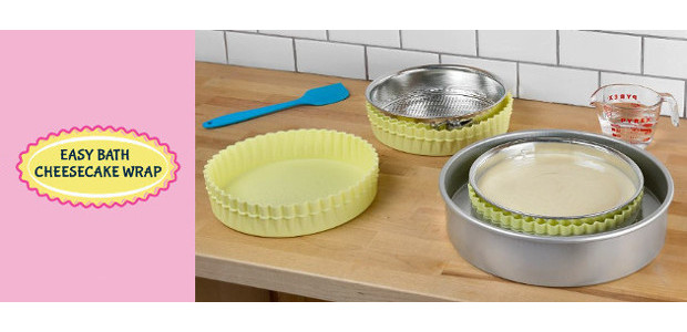 Special gift for the Special Mom Baker! Innovative brand new product solves the problem of leaky springform pans >>www.easybathcheesecakewrap.com FACEBOOK A Special gift for the Special Mom Baker! Innovative brand […]