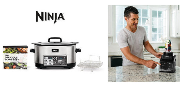 For Dad! Make his life easier with the Ninja Cooking System with Auto-iQ. Complete with more than 80 pre-programmed recipes, this four-in-one cooking system delivers tons of flavor with less […]