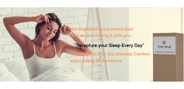 The Hive Mattress. www.thehivemattress.com. Suffering from back pain…. getting the right rest at night can make a big difference! Take a look at www.thehivemattress.com for a very well designed mattress. […]