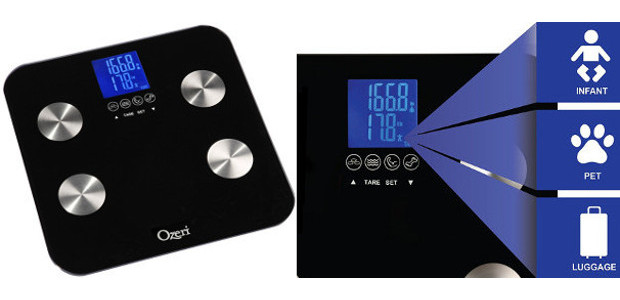 Ozeri Touch – Digital Scale 200kg maximum – Measures weight, fat, water, muscle and bone quantities – Memory function 8 profiles On Amazon >www.amazon.fr/Ozeri-Touch-digitale-quantit New Step On technology that records […]