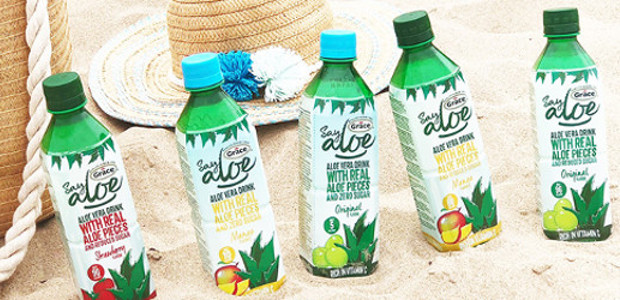 Say Aloe isn't your average drink. Real pieces of aloe vera give the drink its unique texture, and its clean and refreshing flavour makes it deliciously different refreshment. #ALiftFromAloe www.gracesayaloe.co.uk […]