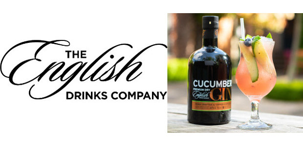 """How about a delicious cooling Summer cocktail with The English Drinks Company's Cucumber Gin? """"Jumping Blue One"""" www.englishdrinkscompany.co.uk FACEBOOK 