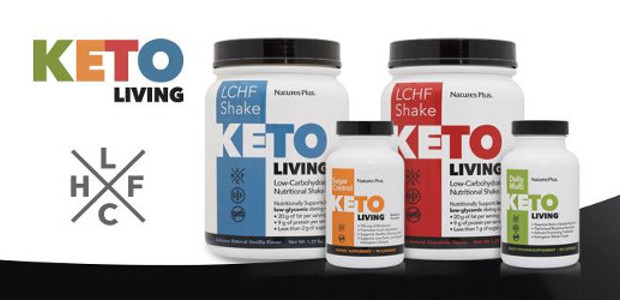 Natures Plus, have released a KetoLiving range. KetoLiving is a system of products specially designed to provide the support you need to live a successful Keto or LCHF (Low-Carb, High-Fat) […]