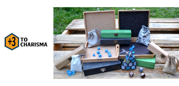 +3 to Charisma. Customizable Dice Trays, Dice Chests, and Battle Bags Help Protect Your Gaming Gear And Make Transport Easy! www.plus3tocharisma.com FACEBOOK | INSTAGRAM | LINKEDIN | TWITTER +3 to Charisma's […]