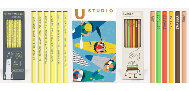 Back To School Essentials from U Studio Design. Notebooks & Pencil Sets. www.ustudio.design We are U Studio, a contemporary & design-led publisher of cards and gifts. We design and develop […]