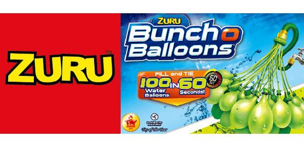 Bunch O Balloons! Fill & Tie 100 Water Balloons in 60 Seconds! UNLEASH SUMMER IN EVERY PACK! >>www.zuru.com FACEBOOK | INSTAGRAM | YOUTUBE | TWITTER | PINTEREST | LINKEDIN ZURU, […]