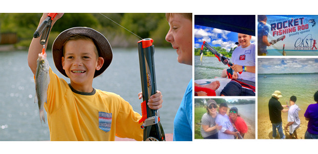 Rocket Fishing Rod >> When you cast it, blast it with the Rocket Fishing Rod, the kids fishing rod that accurately casts its line up to 30 feet.  www.goliathgames.us […]