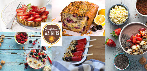 Keep calm and eat a strawberry With British berry season upon us here are some gorgeous recipes from California walnuts which make the most of the lovely British cherries, blackberries, […]
