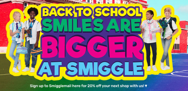 SMIGGLE! Back To School Essentials! So Much Fun & Stylish! >> www.smiggle.co.uk So Much Choice! FACEBOOK | TWITTER | INSTAGRAM The world's hottest stationery brand Born in Australia in 2003, and […]