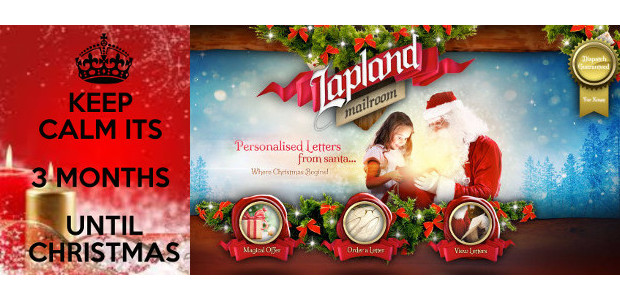 HURRY! Get your orders in to Lapland for Personalised Letter From Santa for your little ones! He's So busy! But Santa sends his letters before Christmas if he know who […]