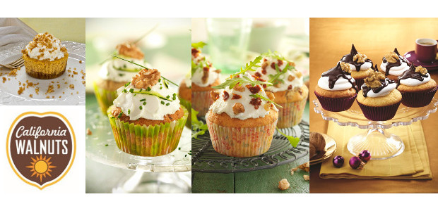 Recipes for National Cupcake Week with California Walnuts! FACEBOOK | TWITTER | INSTAGRAM | PINTEREST californiawalnuts.uk Courgette, Onion, Feta and California Walnut Cupcake   If you're looking for creative inspiration for […]