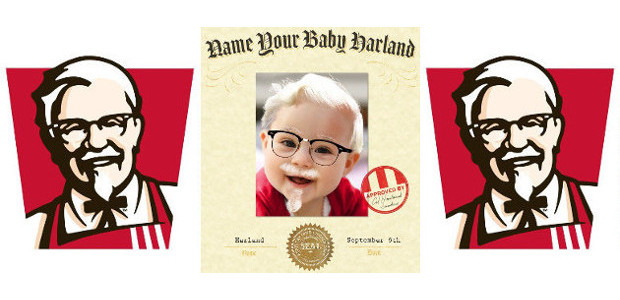 KFC LAUNCHES CONTEST TO INSPIRE THE NEXT GENERATION OF HARLANDS www.kfc.com/babyharland FACEBOOK | TWITTER | INSTAGRAM The first baby born on the Colonel's birthday (Sept. 9)and named Harland will win […]