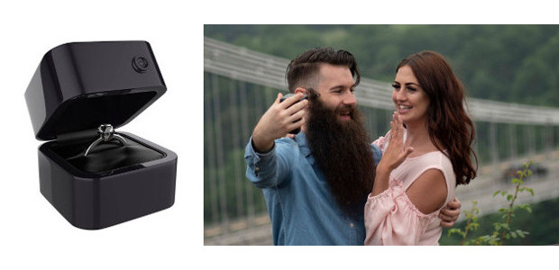 Wow! What a great idea! Engagement Cam.. the Wedding proposal box with a built in video recorder, to capture forever that amazing event and those moments… www.engagementcam.co.uk . Shop at :- https://www.engagementcam.co.uk/product/engagement-cam/ […]