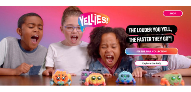 YELLIES (Ages 5 years & up/Available October 2018) www.yellies.hasbro.com/en-gb FACEBOOK | TWITTER | INSTAGRAM Get ready to yell for YELLIES! The cutest, fuzziest pets that respond to your voice! These […]