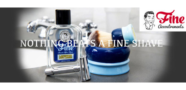 """Nothing Beats a Fine Shavewww.fineaccoutrements.com """"Absolutely superb!"""" FACEBOOK 