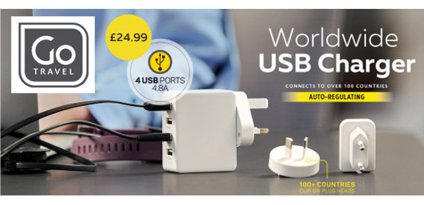 For Travellers This Wonderful Festive Season! This will come in so handy! Removing Stress & Remaining In Charge of the details! GO Travel > WORLDWIDE USB CHARGER > go-travelproducts.com/uk/electricals/worldwide-usb-charger Worldwide […]