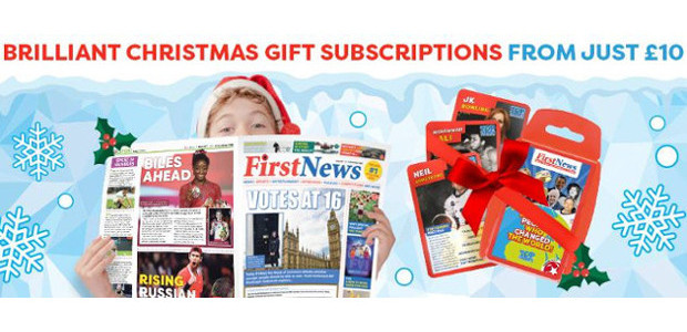 GET KIDS CURIOUS ABOUT THE WORLD THIS CHRISTMAS WITH A FIRST NEWS SUBSCRIPTION GIFT FOR 2019 www.firstnews.co.uk TWITTER | YOUTUBE | FACEBOOK | INSTAGRAM If you want to buy the […]