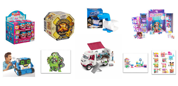 Top 10 Toys for Christmas! With Christmas peeking just around the corner, look no further than these great new toys, playsets and kits for boys and girls this festive season! […]