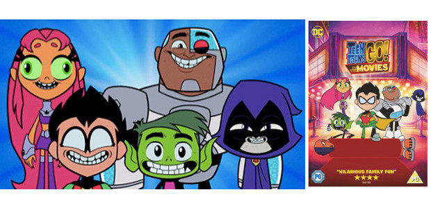 """When the Teen Titans go to the big screen, they go big! From Warner Bros. Home Entertainment """"TEEN TITANS GO! TO THE MOVIES"""" finds our egocentric, wildly satirical superheroes in […]"""
