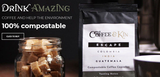 Coffee & Kin. Bringing the cafe experience to your kitchen through specialty compostable coffee pods, coffee beans & loose leaf tea pyramids. www.coffeeandkin.co.uk FACEBOOK | TWITTER | INSTAGRAM Coffee & […]