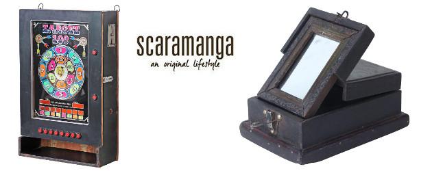 Scaramanga… an original lifestyle. Grooming Essentials. www.scaramangashop.co.uk FACEBOOK | PINTEREST | TWITTER | YOUTUBE | GOOGLE+ | INSTAGRAM Scaramanga – Upcycled Vintage Arcade Cabinet Scaramanga is bringing back some vintage […]