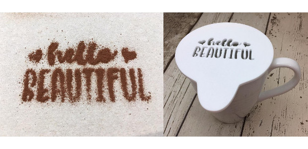 Coffee stencils for a romantic night in for the bride and groom? For a gorgeous styled coffee at the end of your meal … or in front of a fire. […]
