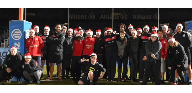 Monday Night Training Sessions @ Allianz Park… England International Billy Vunipola teaches children with learning disabilities some touch rugby… The Monday night training sessions at Allianz Park are sponsored by […]
