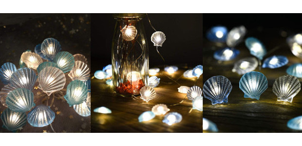 Great Valentine's Atmosphere Creator! >> Nautical Decor Beach Decor led String Lights Sea Shells Under The sea Beach Decorations for Home Coastal Ocean Theme Party Navy Blue for Room Bedroom […]