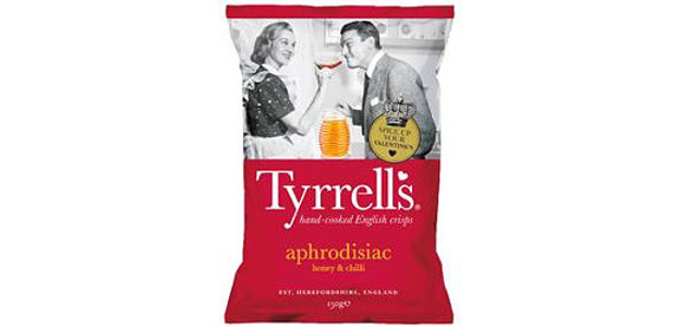 First aphrodisiac crisps set to raise temperatures this Valentine's Day www.tyrrellscrisps.co.uk FACEBOOK | INSTAGRAM | TWITTER Tyrrells' new Honey and Chilli hand cooked potato crisps are a match made in […]
