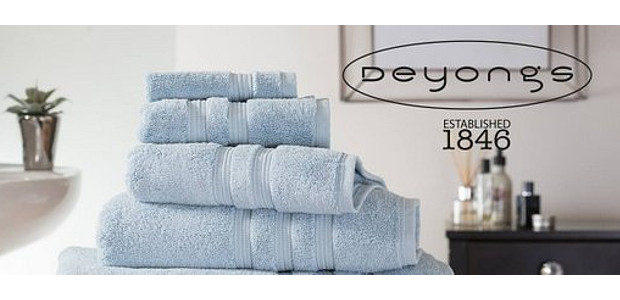 """Deyongs est 1846. Home Textiles. An ethos of innovation and detail. (Exclusive 50% off all products """"RUGBY50"""") www.deyongs.com FACEBOOK 