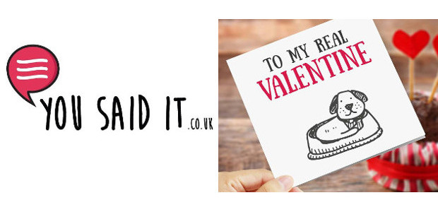 Helping you offend and entertain with funny cards and more! Don't blame us, you said it! classic Valentine Fun Cards > www.yousaidit.co.uk TWITTER | FACEBOOK | PINTEREST | INSTAGRAM You Said […]