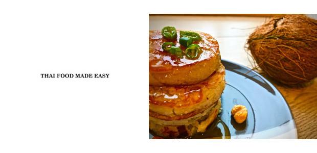 RECIPE! COCONUT PANCAKE by Marni Xuto @ Thai Food Made Easy! www.thaifoodmadeeasy.com FACEBOOK | TWITTER | INSTAGRAM Coconut Pancake (Gluten free, Dairy free, Vegan) Serve:4 Ingredients : 70 gram Rice […]