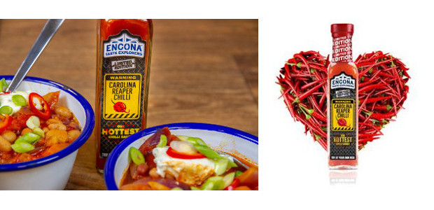 Why not spice up February 14th with Encona's Carolina Reaper Chilli Sauce – the perfect gift for fiery lovers. www.enconasauces.co.uk FACEBOOK | TWITTER | YOUTUBE | PINTEREST The sauce, which […]