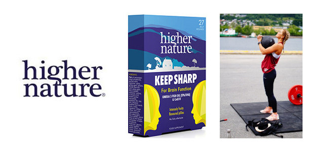 """Keep Sharp"" Tasty jellies to support focus and mental clarity. (£6.50 today) www.highernature.co.uk FACEBOOK 