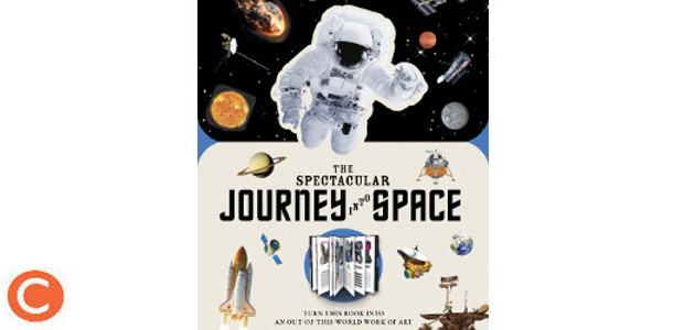 PAPERSCAPES: THE SPECTACULAR JOURNEY INTO SPACE Author Kevin Pettman (www.carltonbooks.co.uk) FACEBOOK | TWITTER | INSTAGRAM | YOUTUBE Discover space as you've never seen it before in this fascinating book with […]