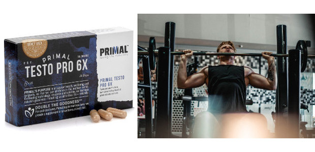 £1.99 SALE PRICE 605 Off… PRIMAL CURE > TESTO PRO 6X (10,000 BC)… increase muscle density and volume, boost fertility, very much for men's health (Horny Goat Weed, Maca Root, […]