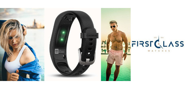 """Blog. Garmin Vivosmart 3 HR. From First Class Watches. TWITTER 