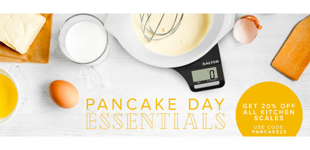 Power Up For Pancake Tuesday! Salter Housewares to the rescue >> Measuring Scales & Scales + thermometer bundle! >> www.salterhousewares.co.uk TWITTER | FACEBOOK | PINTEREST Lemon Electronic Scale – RRP £20.00, […]