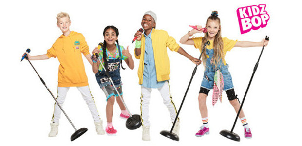 "WORLD'S NO.1 CHILDREN'S MUSIC BRAND ""KIDZ BOP""COUNTS DOWN TO FIRST-EVER HEADLINE U.K. LIVE SHOW ON 20 APRIL 2019 AT THE EVENTIM APOLLO IN LONDON www.kidzbop.co.uk INSTAGRAM 