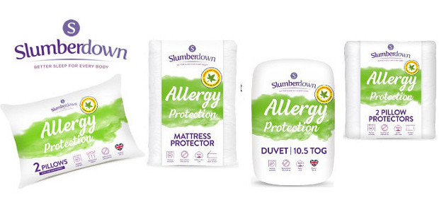 The NEW Slumberdown brand relaunches its Allergy Protection range >> www.argos.co.uk/search/slumberdown FACEBOOK | TWITTER The NEW Slumberdown brand has relaunched its Allergy Protection range exclusively across Argos stores nationwide. The […]