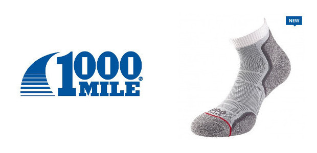 """New Socks! Soft, breathable and comfortable and good for 1000 miles! www.1000mile.co.uk """"Fantastic socks… finally my socks will last and last and last. 1000 miles, i will take that and […]"""