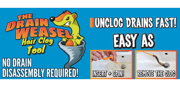 Increasing Harmony At Home… simple solution to an ongoing problem! Drain Weasel Drain & Plughole Cleaning Brush! >> www.flexisnake.com On Amazon! Drain Weasel Drain & Plughole Cleaning Brush Helps to […]
