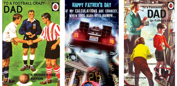 www.danilo.com/Shop/Cards-and-Wrap/fathers-day-cards FACEBOOK | TWITTER | PINTEREST | GOOGLE+ | LINKEDIN | YOUTUBE Ladybird Books For Grown-Ups Father's Day Fantastic Dad Card See more at :- www.danilo.com/Shop/Cards-and-Wrap/fathers-day-cards The Blues Brothers Father's […]