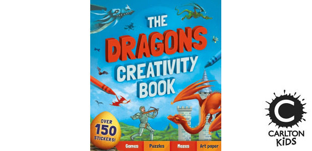 THE DRAGONS CREATIVITY BOOK by Andrea Pinnington >> www.carltonkids.co.uk FACEBOOK | TWITTER | INSTAGRAM | YOUTUBE Snip! Stick! Colour! Create! Let your imagination run riot in the ultimate activity book […]
