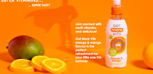 Packed with multi-vitamins the Get More Vits orange and mango water is the perfect drink to keep your little one hydrated this summer. This sugar-free multivitamin drink provides a blend […]