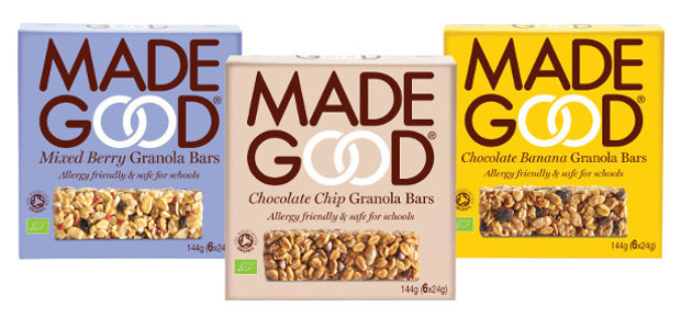NEW PRODUCT ANNOUNCEMENT THE FIRST EVER SAFE FOR SCHOOLS SNACK BAR FACEBOOK | TWITTER | INSTAGRAM | LINKEDIN MadeGood® launches allergy friendly, organic, vegan, granola bar 'Safe for Schools' and […]